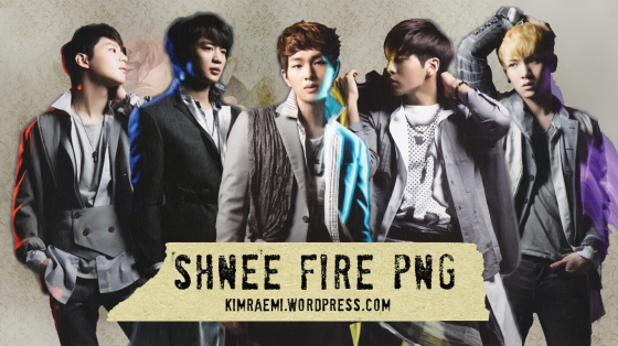 shinee png fire