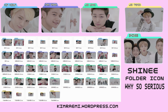 cover folder icon shinee