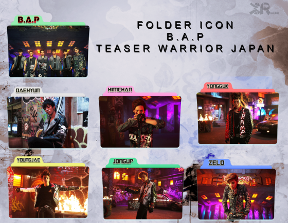 cover bap warrior japan