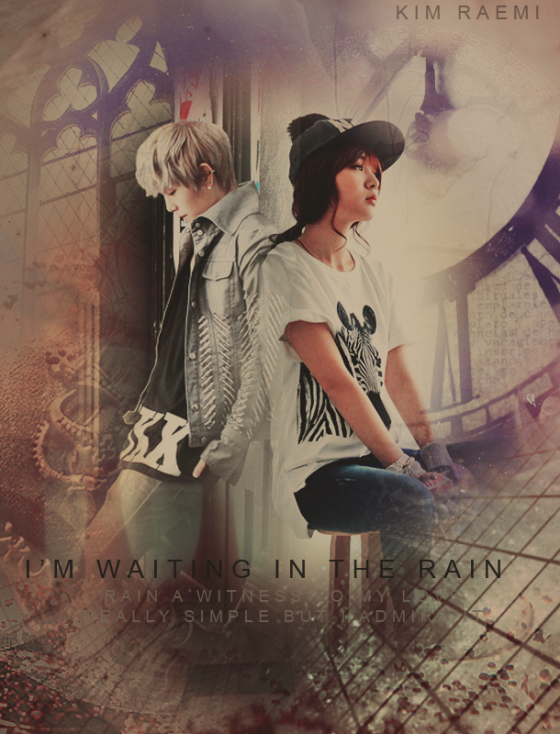 im waiting in the rain poster2